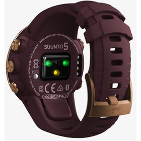 Suunto 5 Reloj Deportivo GPS, burgundy/copper